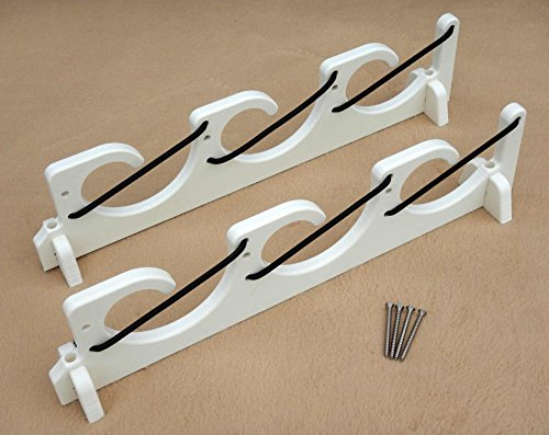 Boat Rod Holder - 3 Rods Bungee