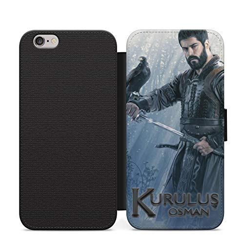 Crow Kurulus Osman Season 2 Leather Flip Phone Case Cover Islamic For Samsung A3 Leather