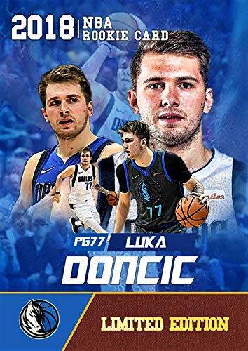 2018 LUKA DONCIC Limited Edition CUSTOM MADE Basketball Rookie Card - Non Endorsed Custom Novelty Card - Dallas Mavericks