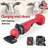 ZHFEISY Sheep Shears - 18V Charging Wireless Electric...