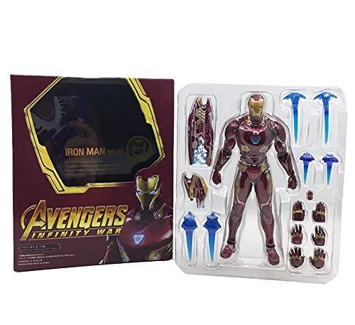 YXCC Iron Man Action Figure Statua di Uomo di Ferro