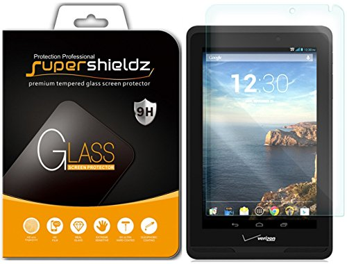 (2 Pack) Supershieldz Designed for Verizon Ellipsis 7 Screen Protector, (Tempered Glass) Anti Scratch, Bubble Free