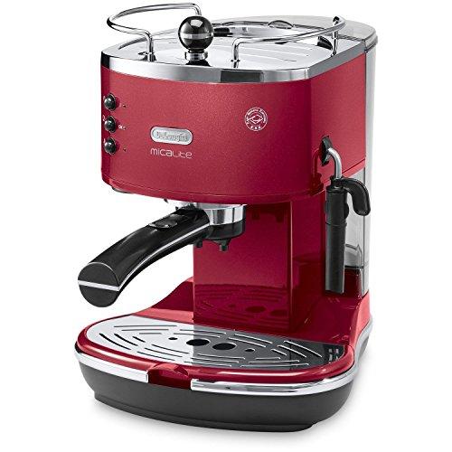 De'Longhi Icona Micalite ECOM311R Traditional Pump Espresso Machine - Red