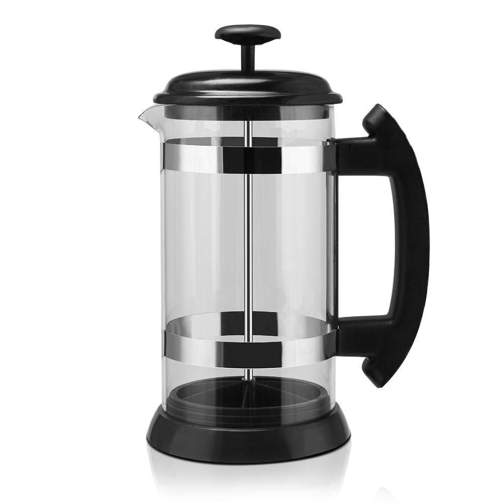 Prensas francesas de plástico Olla Moka Máquina de café Cafetera Herramienta de percolador 1000ml Filtro de cafetera Filtro Cafetera Hogar: Amazon.es: Hogar