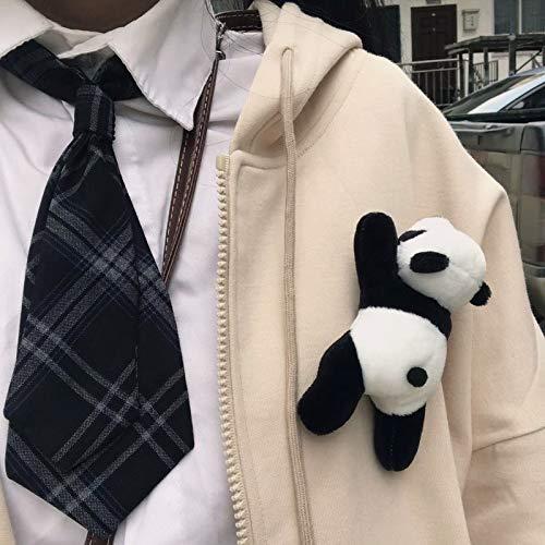 YDOZ Juguetes Peluche Panda Oso Panda Juguete de Peluche Lindo 12CM Juguetes de Peluche Adorable muñecas Regalo para cumpleaños Navidad Fiesta Aniversario pequeño Colgante Broche (Altura : 12cm)