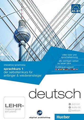 DP.SPRACHKURS 1.A1-B1(DVD-ROM+CD+L.): der selbstlernkurs für anfänger & wiedereinsteiger / Paket: 1 DVD-ROM...