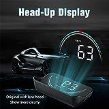 Meiyiu Car OBD2 Head Up Display OBD Hud Digital Speedometer Colorful Windshield Projector