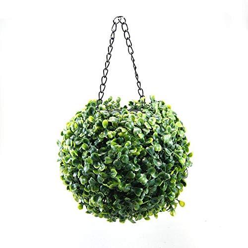 SHENLIJUAN Araña de imitación de Alta Bola de la Hierba Aspecto 20 cm de diámetro Impermeable al Aire Libre decoración de jardín