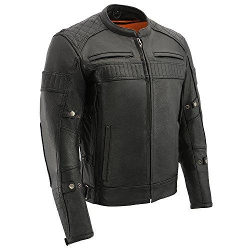 Milwaukee Men's Vented Scooter Jacket (Black, Medium)