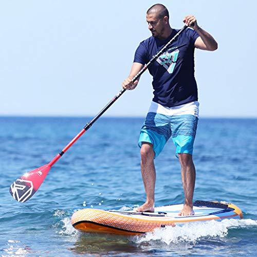 Inflatable Paddle Board SUP Stand Up Paddle Board 6 Inches Thick Board with SUP Accessories & Carry Bag & Fast Pumping for Adults & Youth for Paddling Surfing Fishing Yoga