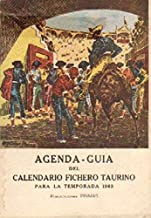 AGENDA-GUIA DEL CALENDARIO FICHERO TAURINO. TEMPORADA 1963