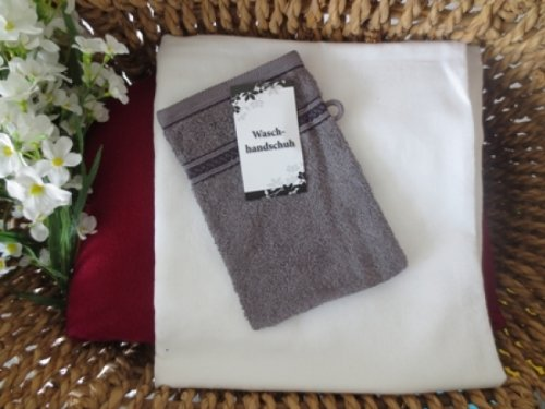 Uni-gant avec walk glanzbordüre 15 x 20 cm (anthracite)