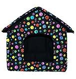 LOVE PET - Caseta de Tela Plegable/ Cuna Perro/ Habitación Portátil/ Nido Mascota para...