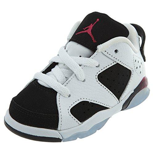Nike Jordan Nike Kleinkinder 6 Retro Low Gt Weiß/Fuchsia/Schwarz Sport Basketball Schuh 6 Kleinkinder Uns