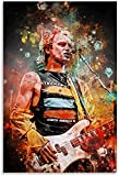 HuGuan Leinwand Malerei Bild Gitarristen der Sting Police