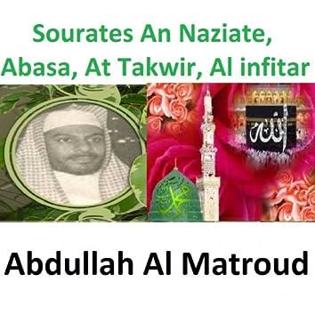 Sourates An Naziate, Abasa, At Takwir, Al Infitar (Quran - Coran - Islam)
