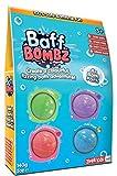 Zimpli Kids-Baff Bombz, Verde, Morado, Azul y Rojo, Paquete de 4 baños, CREA una Aventura Vibrante. Bombas de baño para niños, Color (5276)