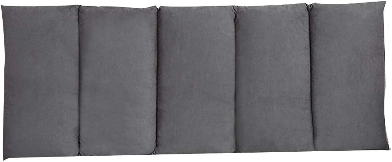 YONG FEI Coussin de chevet - Coussin de dossier de lit sans tête de lit Lit Soft Pack Grand coussin d'oreiller à la taille Oreiller canapé-lit (Couleur   C, taille   200x60cm)