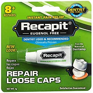 Recapit Cap And Crown Cement - 1 Grm, Pack of 6