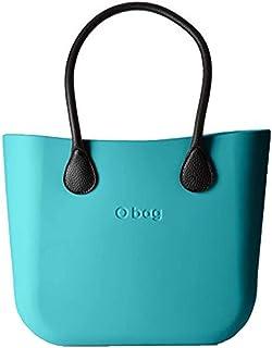 OBAG , Damen Schultertasche Blau aqua (blau) 31x39x14cm