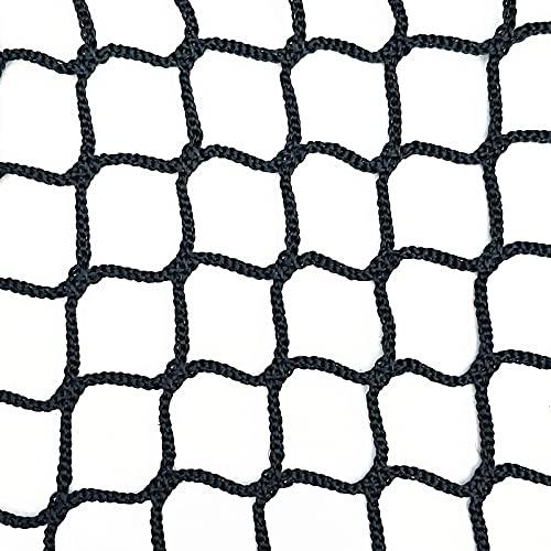 Baseball-Backstop-Netze, Strapazierfähiges Knotenloses Netz, Schützendes Sportnetz, Wiederverwendbares Gartennetz-Schutznetz, Für Lacrosse, Fußball, Baseball, Basketball-Sportnetze,1x1m/3.3x3.3ft