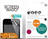 Apple iPhone 5, 5S, or 5C Ultra Clear ScreenWard Sreen Protectors 3-Pack with Ironing Card and Cleaning Cloth