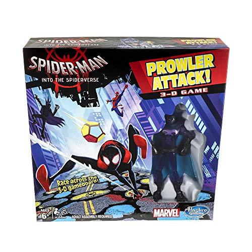 Marvel Spider-Man Spider Verse Attack 3-D Peter Parker + Prowler Action Figure
