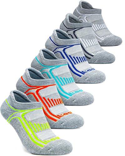 (テスラ)TESLA ソックス 靴下[抗菌防臭・吸汗速乾] ショートレングス 6足組 [ユニセックス] MZS05-DGXZ_M
