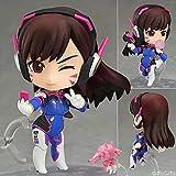 Homejuan D.Va Wacht Action-Figur Sammlung Animierte Charakter Modell Statue Dekoration 10CM