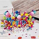 Happy Birthday Pop Up Card, Birthday Pop up Cards, Popup Birthday Card, 3D Card, Birthday Cards, 3D Birthday Greeting Card, Birthday Pop Up Card, 3D Birthday Card, Birthday Greeting Cards