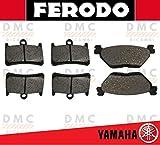 KIT PASTIGLIE PASTICCHE FRENO FERODO TMAX 530 - TMAX 530 IRON MAX - TMAX 530 LUX MAX - TMAX 530 DX - TMAX 530 SX