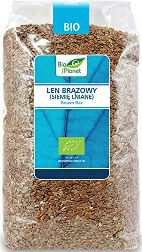 Graine de lin (lin brun) BIO 1 kg - BIO PLANET