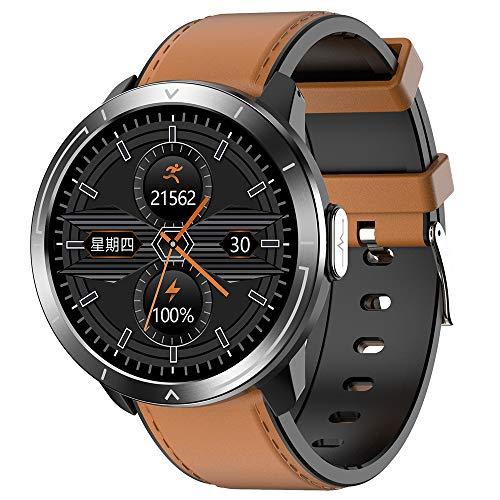 HJKPM M18plus Smartwatch, Reloj Inteligente De Salud De Pantalla Grande A Prueba De Agua IP68 con Ritmo Cardíaco Deportivo Monitoreo del Sueño Y Bluetooth Take Funcion,E5