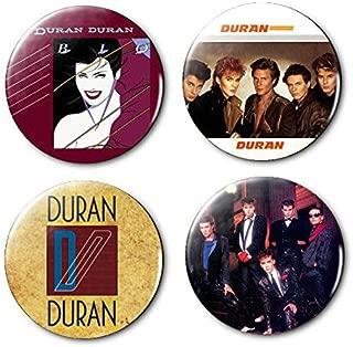 Duran Duran 4 Pcs of 1.25 Inch Pinback Buttons