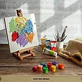 Creative Deco Acryl-Farben Set | 12 Groß 100 ml Röhren | Farbset Hergestellt in EU | Für Anfänger Studenten Künstler und Profis | Ideal für Holz Leinwand Stoff und Papier | 12 x 100 ml Tuben - 5