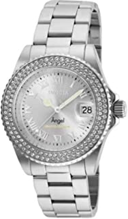 Invicta Cruiseline Women's Angel Limited Edition 40mm Stainless Steel Silver Tone Crystal Accented Swiss Quartz Watch