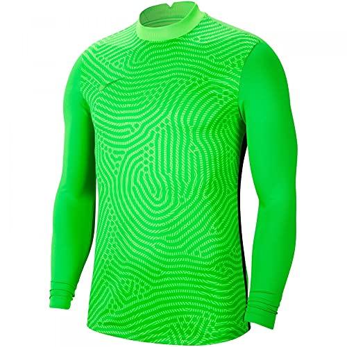NIKE Gardien III Goalkeeper Jersey Longsleeve Camiseta de árbitro, Hombre, Verde y Verde, Large