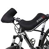HE TUI Manoplas para Manillar De Bicicleta De Montaña, Guantes De Invierno para Bicicleta, Fundas para Calentadores De Manos, Manubrios Gruesos a Prueba De Viento