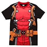 Marvel Comics Character Costume Adult T-Shirt - Deadpool (Medium)
