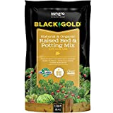 Black Gold Natural & Organic Raised Bed & Potting Mix (1.5 cu. ft. Pallet) Soil