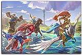 Sunsightly póster De Pared Impreso The Legend of Zelda Brea