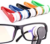 6 Pieces Multi-Functional Portable Sun Glasses Soft Brush Eyeglass Eyewear Microfiber Spectacles Cleaner Brush Cleaning Tools