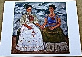Frida Kahlo The Two Fridas 13x10 Offset Lithograph