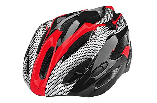 SHINA Casque intégrale Hommes & Femmes EPS Ultraléger VTT Vélo Cyclisme Casque intégrale Montagne Casque Confortable Casque de Protection Taille Unique Sports de Plein air (Rouge)