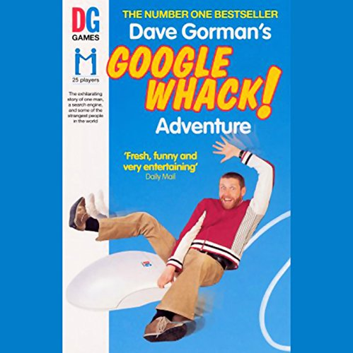 Dave Gorman's Googlewhack Adventure audiobook cover art