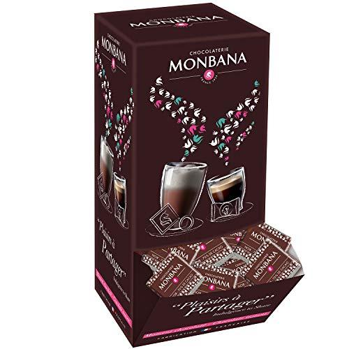 pas cher un bon Carré de chocolat noir Montbana (X200)