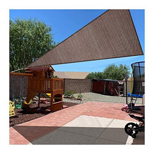 GuoWei Toldo Vela De Sombra, Pabellón De Protección Solar Triangular HDPE, Toldo 85% Resistente A Los Rayos UV para Balcón Terraza Jardín, Tamaño Personalizado (Color : A, Size : 1.5x1.5x1.5m)