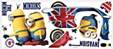RoomMates Minions The Movie Peel and Stick Giant Wall Decals