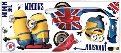 Minions 2-RMK3002GM Disney Sticker, 30022, Multicolore, 104cm x 46cm x 0.1cm
