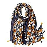 Vellette Mujer Bufandas Estolas y Fulares Largo Ligero Bufanda Calientes de Invierno Mujers Accesorios
